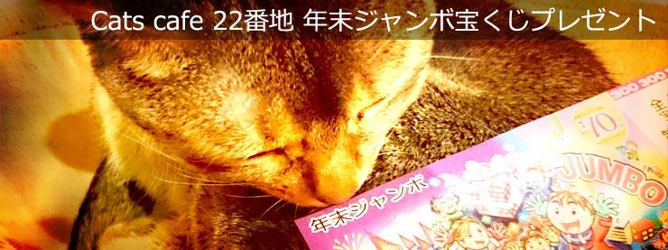 22番地:年末ジャンボ宝くじプレゼントページ追加