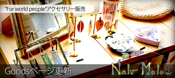 Nalu Mele:Goodsページ更新