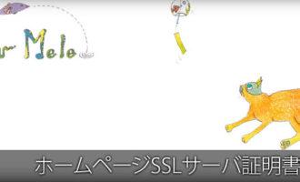 Nalu Mele:ホームページ、SSLサーバ証明書導入