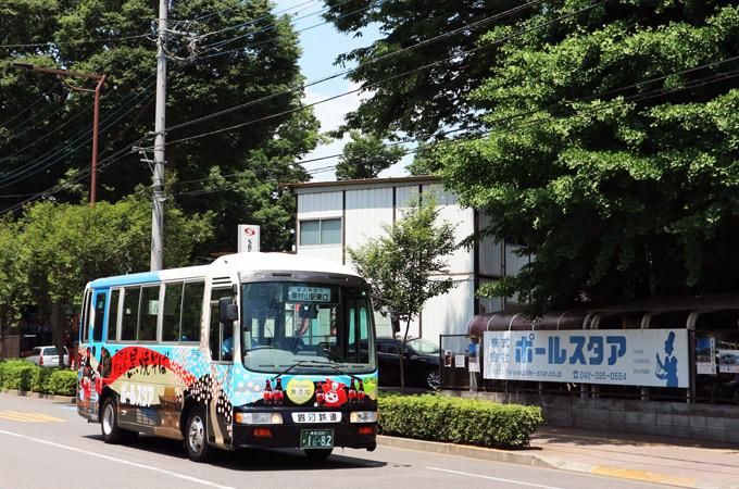銀河鉄道株式会社:ラッピングバス運行ページ更新