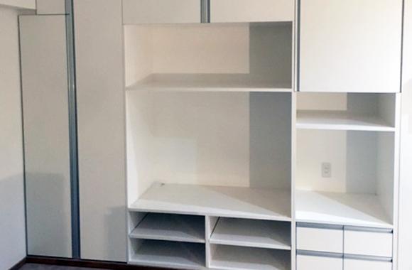 田中建具株式会社:施工例追加「造作家具:棚」