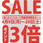 松丸米店 SALE ハガキ