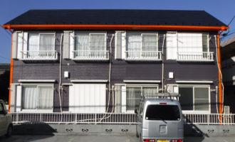 アパート 外壁塗装工事 施工後